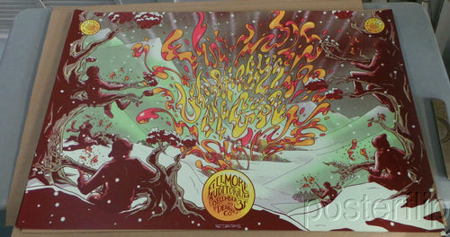 Umphrey's McGee NYE 2013 Denver Screenprint Poster xx/325 James Flames