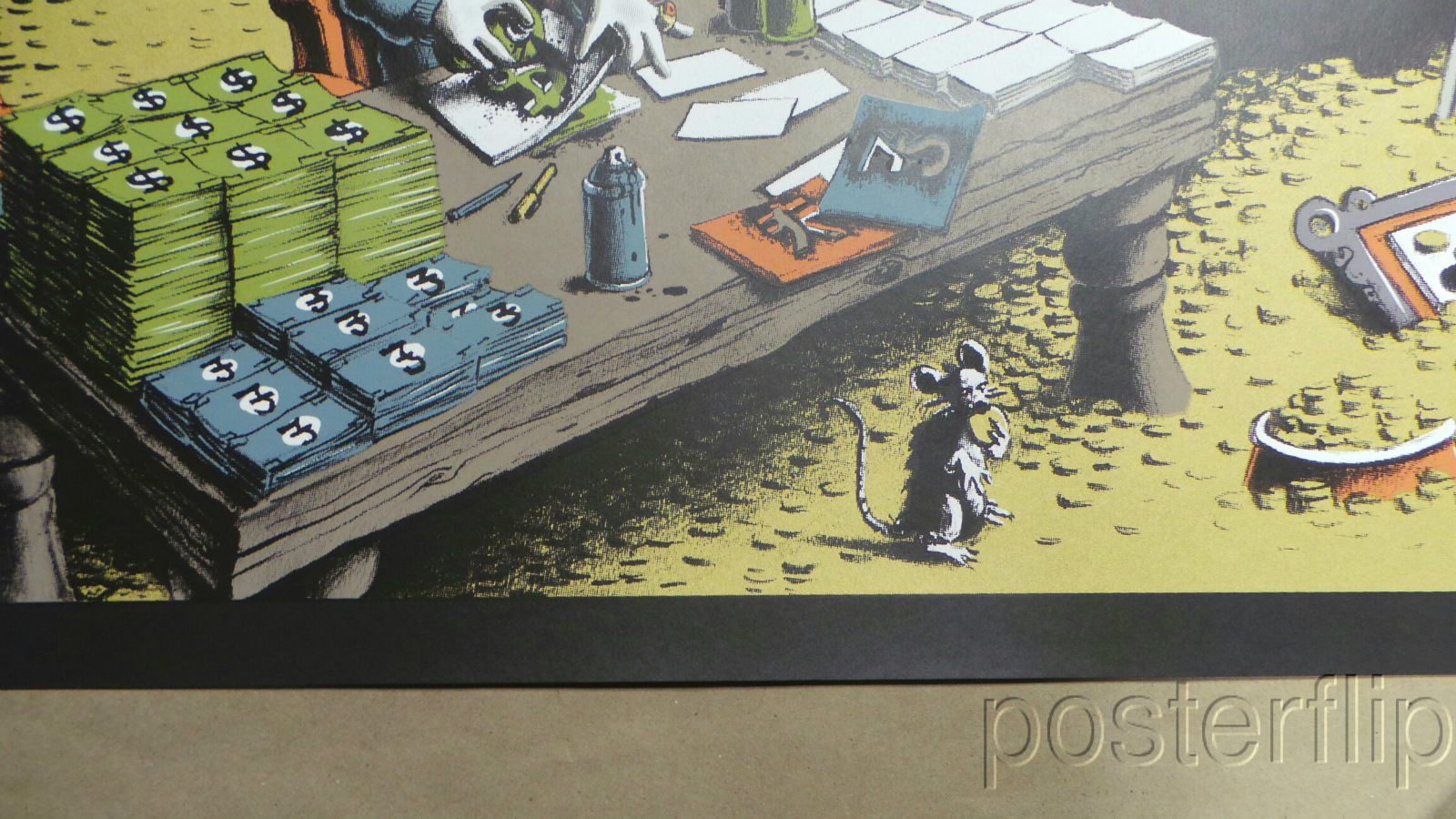 Uncle Bank$ PEZ Limited xx/50 Signed/Numbered Screen Print