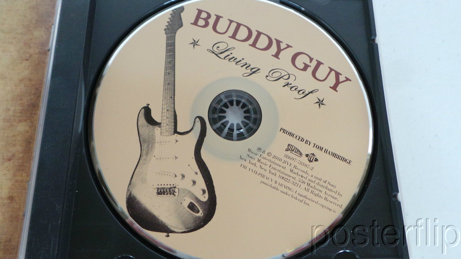 Buddy Guy Living Proof Autographed CD Booklet + CD