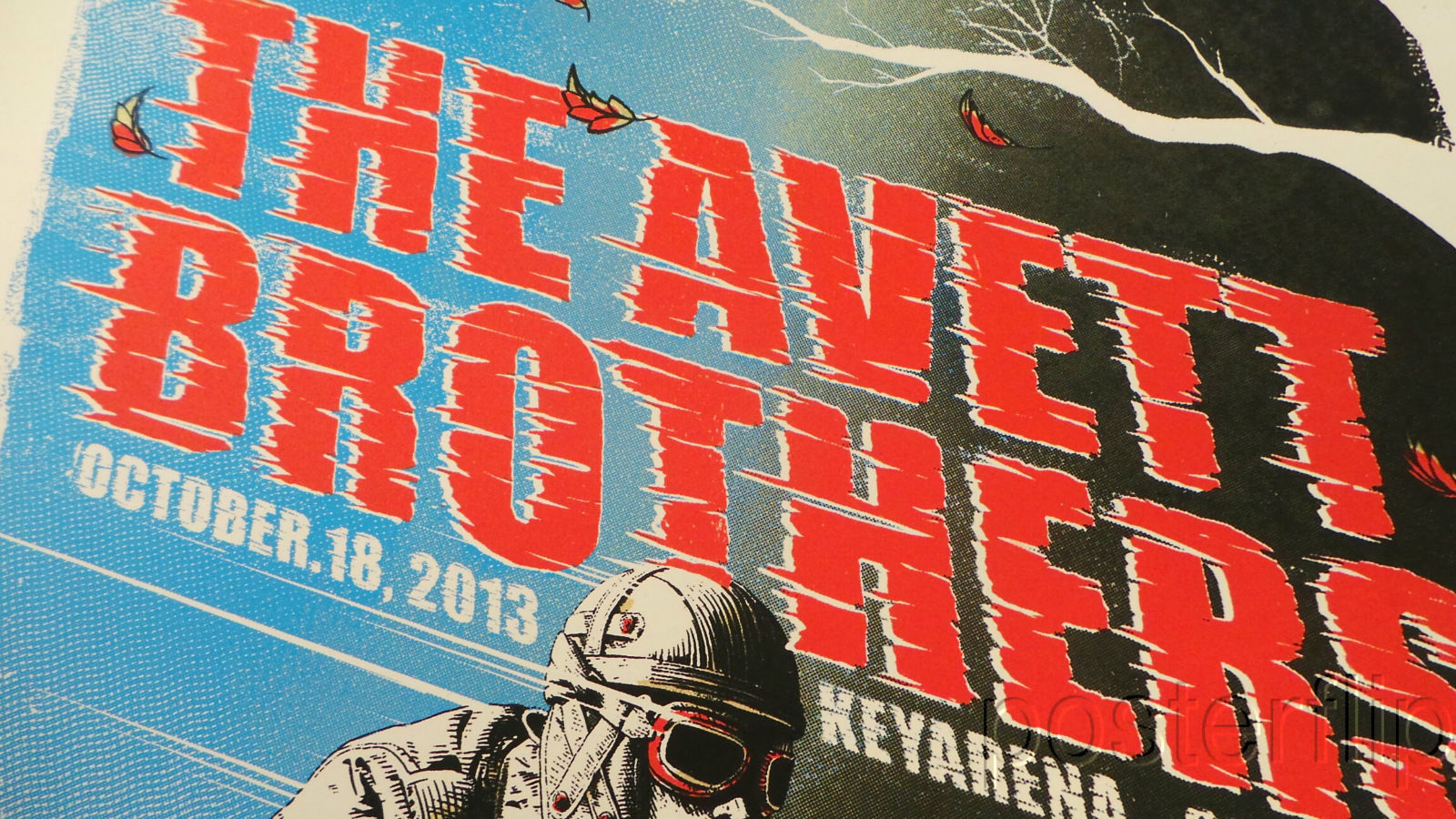 Avett Brothers Seattle 2013 Screenprint Poster Zeb Love xx/200 Signed/Numbered