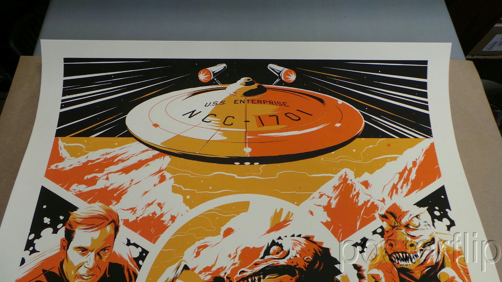 Matt Taylor Arena Star Trek Screenprint Poster xx/175 Mondo