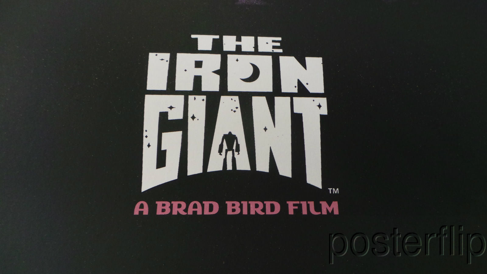 Iron Giant Screenprint Poster Mondo Jay Shaw Limited Edition xx/110 Numbered