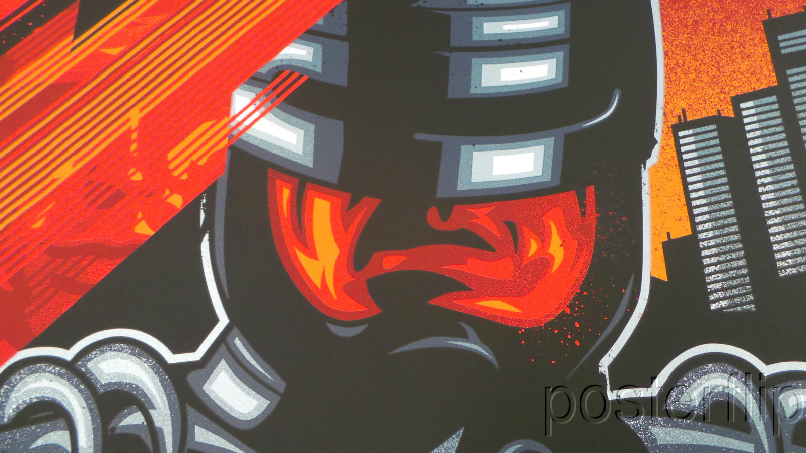 Robocop Standard Screenprint Poster Skuzzles James White N'd xx/165