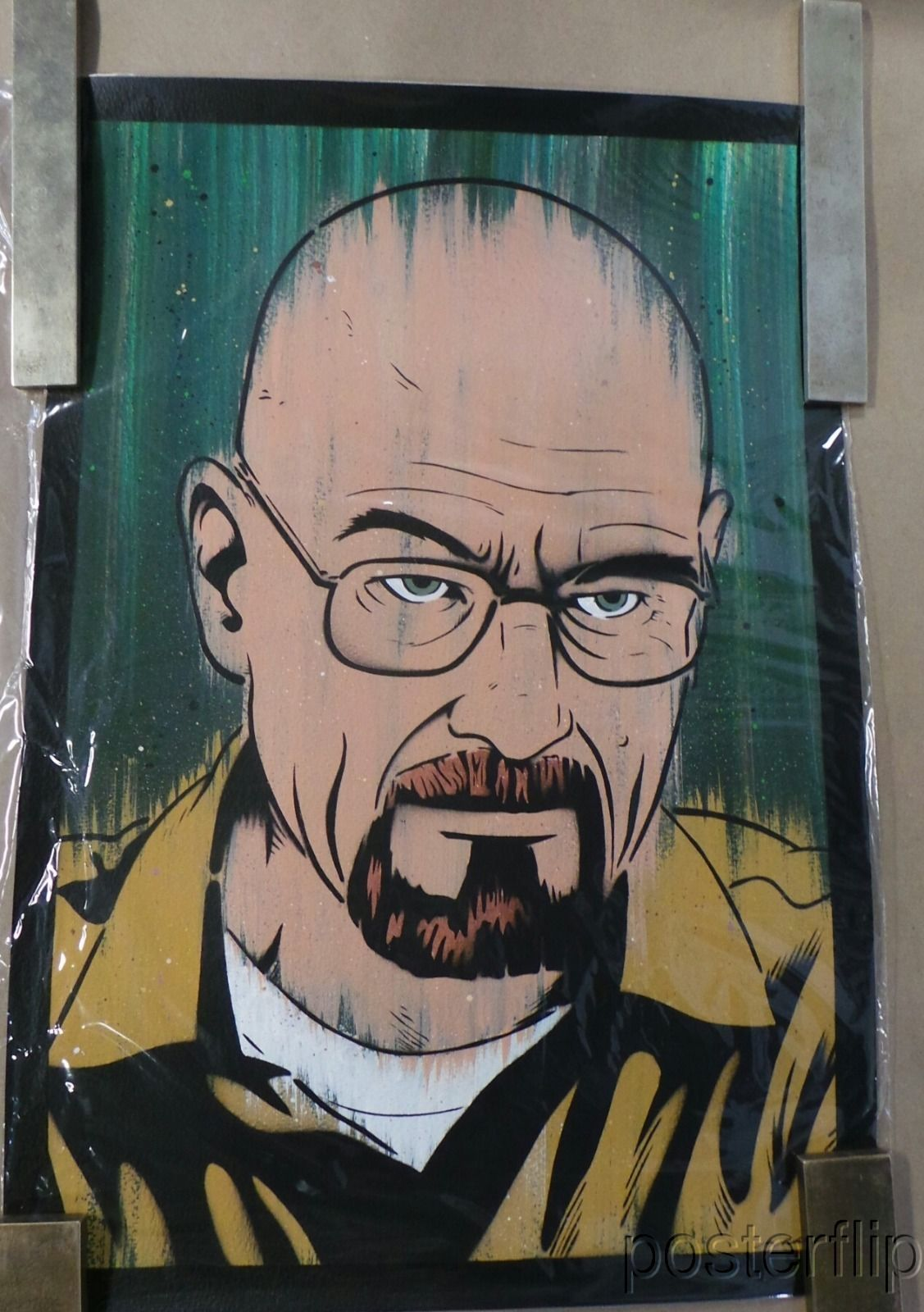 Walter White by Lowercase Industry S/N'd xx/20 Breaking Bad Poster