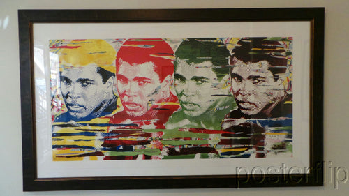Mr Brainwash The Greatest Ali Screenprint Signed/Numbered xx/70 SOLD OUT