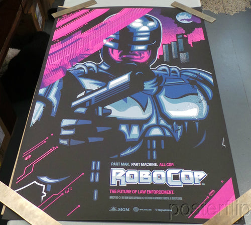 Robocop Variant James White Skuzzles xx/75 Hand Numbered