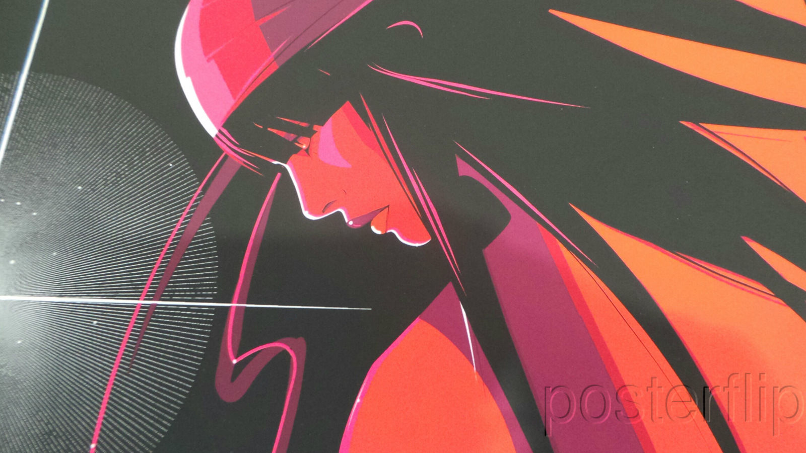Elektra Limited Edition Screen Print Poster xx/275 Mondo Marvel