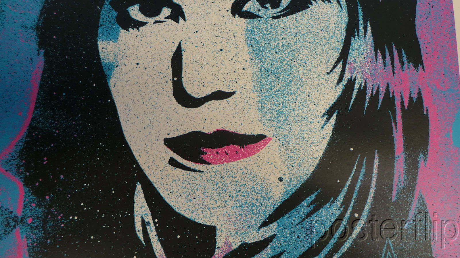 I Love Rock & Roll Joan Jett Screenprint Poster Shepard Fairey xx/550 S/N