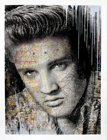 Mr. Brainwash presale King Of Rock SILVER EDITION Elvis Presley 2017 Screenprint