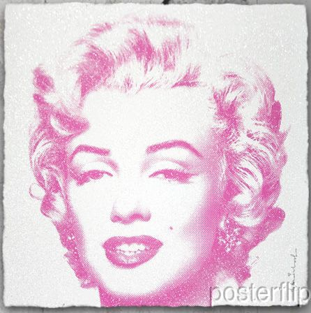 Mr. Brainwash Diamond Purple Edition xx/90 S/N Screenprint Poster