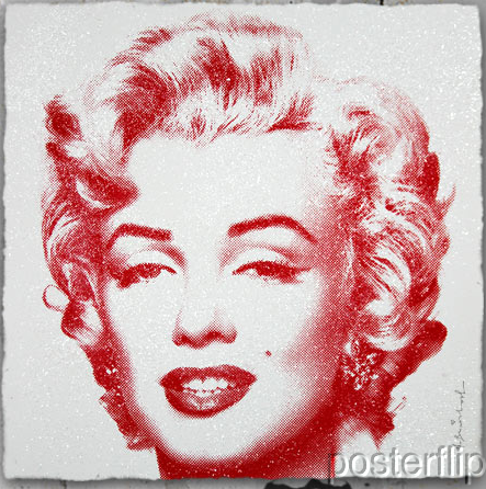 Mr. Brainwash Diamond Girl Pink Edition xx/90 S/N Screenprint Poster