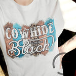 Cowhideis The New Black Tee
