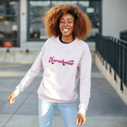 marathoner sweatshirt (rose)