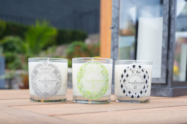 Cashmere & Blue Jeans Signature Scent Candles