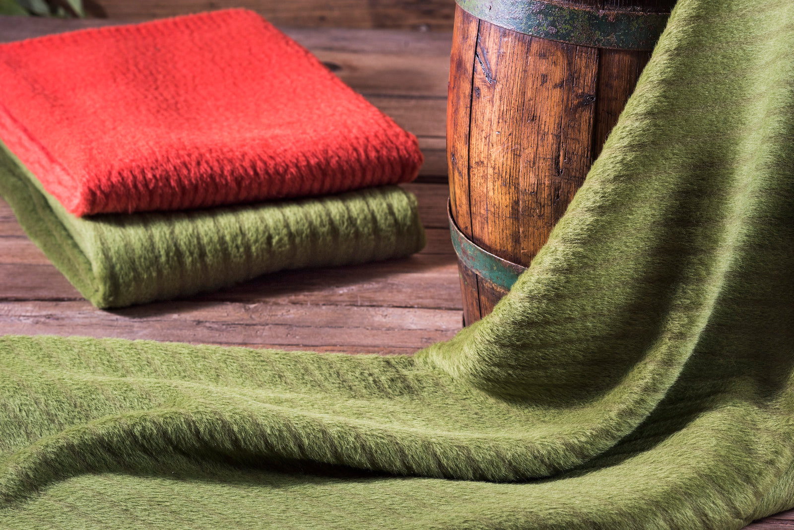 Suri Double Sided Alpaca Throw