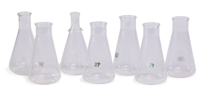 Old School Beakers (Small, Medium and Large)