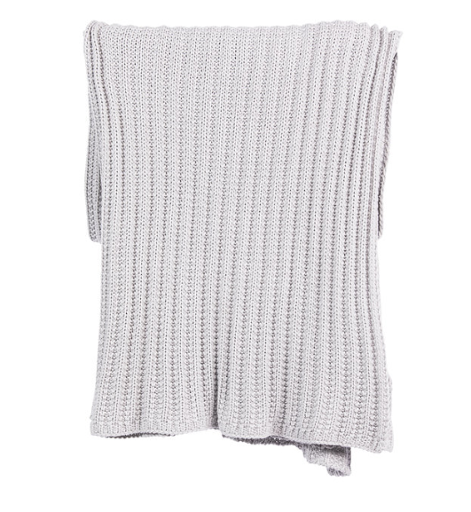 Knit Throw - Ivory