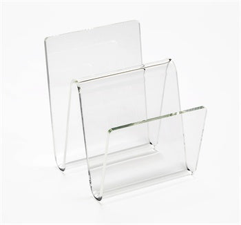 Waverly Acrylic Magazine Rack