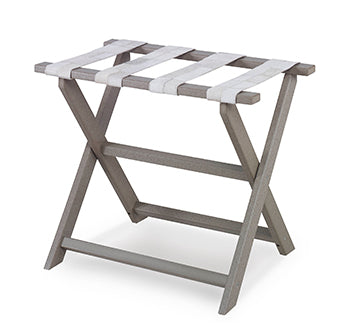 Checker Hide Luggage Rack