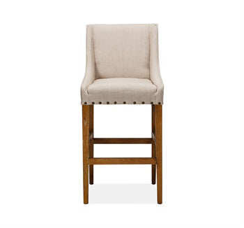 Paris Linen Bar Stool