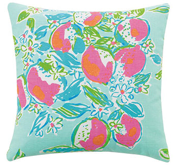 Pink Lemonade Pillow