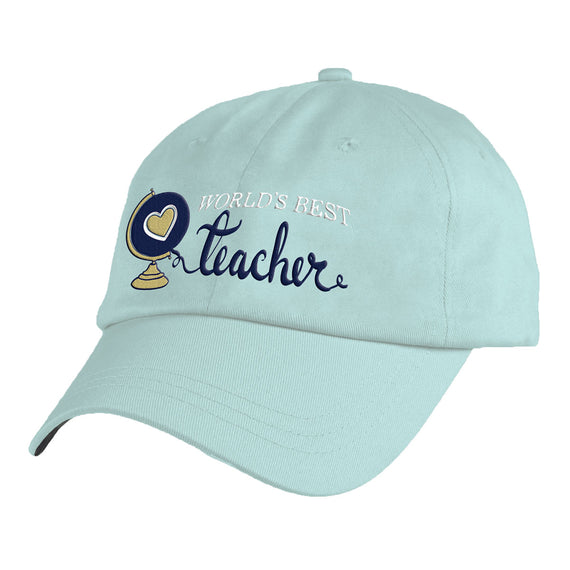 World's Best Teacher Hat