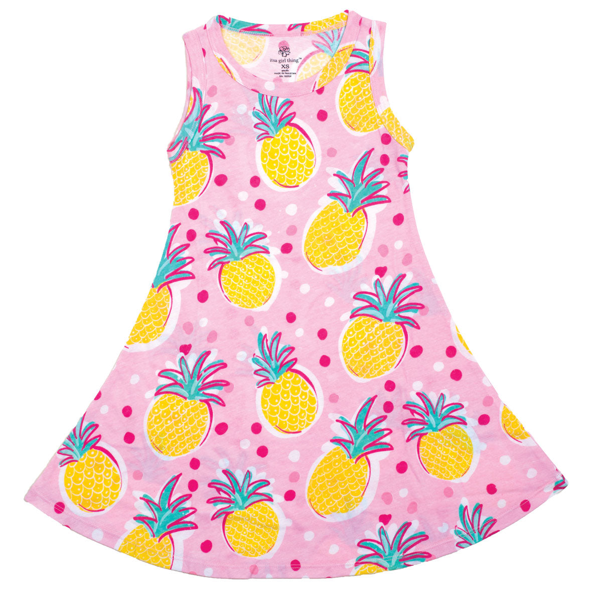 Pineapple Tank Dress - YOUTH