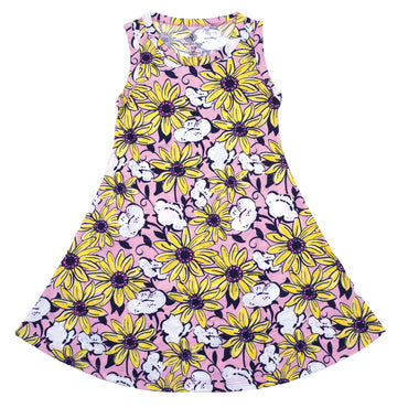 Sunflower Tank Dress - YOUTH