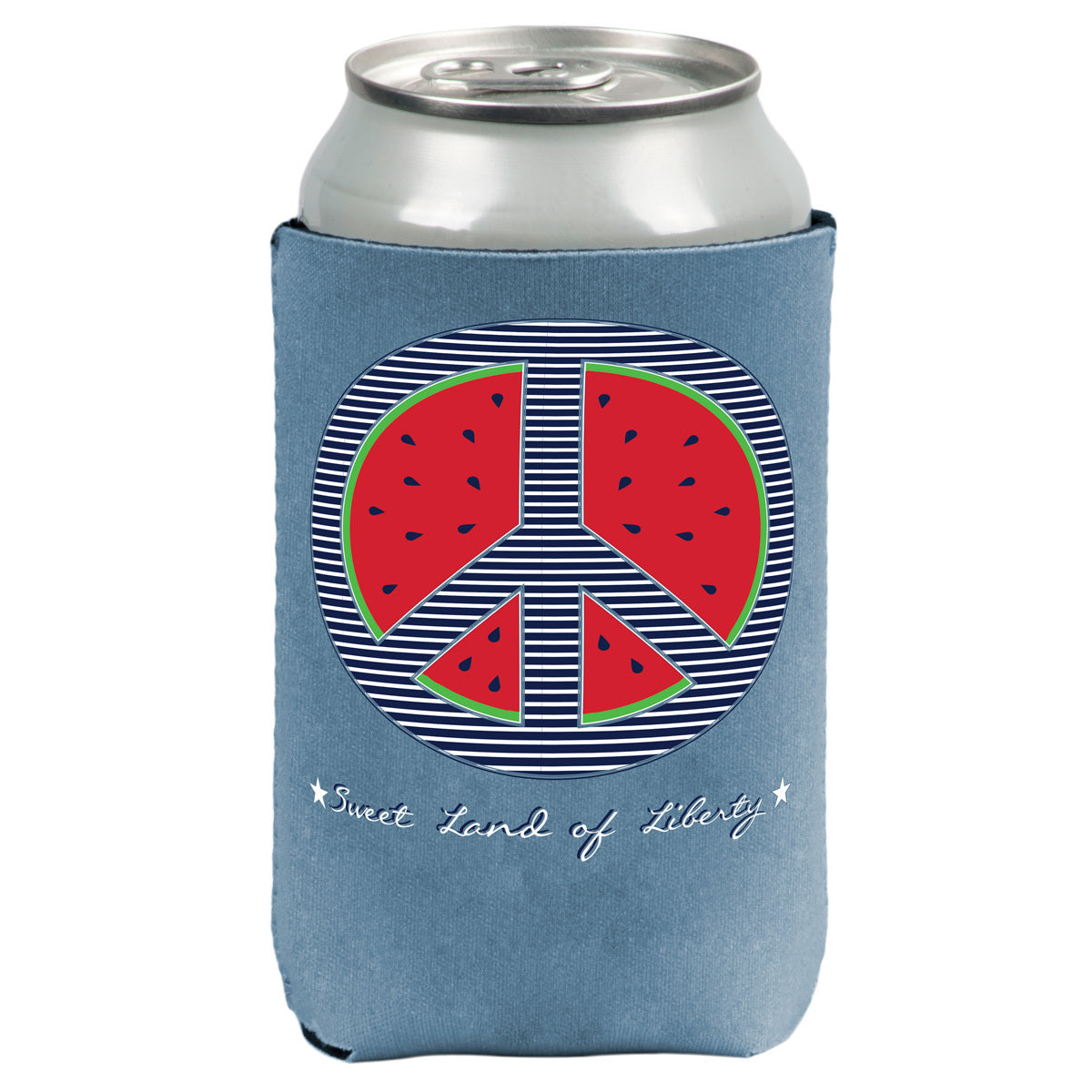 Watermelon Reversible Koozie