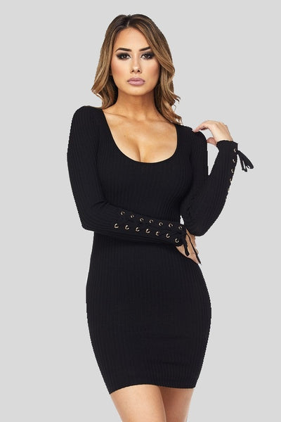black 'nancy' dress