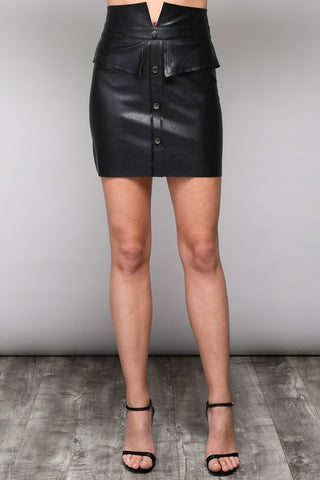 black 'alexandra' skirt