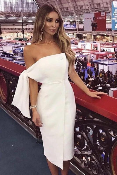 white 'lauren' dress