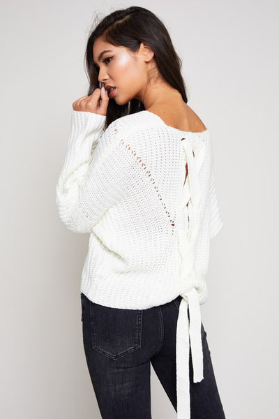 ivory 'julie' sweater