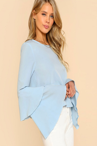 light blue 'shatha' top