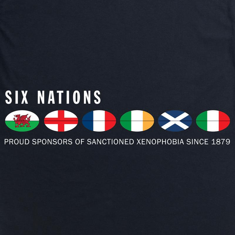 Six Nations T Shirts from ShotDeadInTheHead