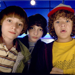 The guys from Stranger Things 2.