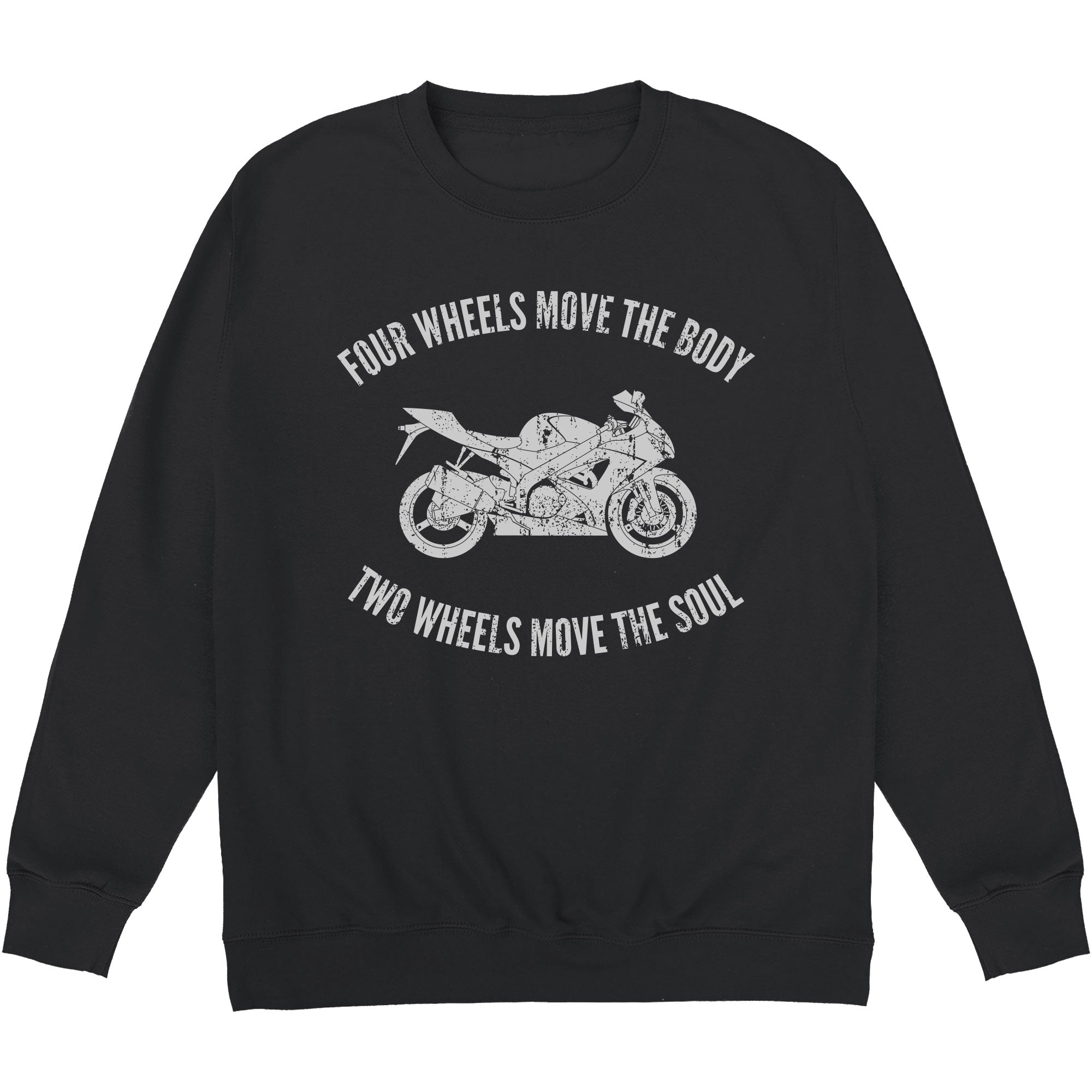 CHEAP Two Wheels Move The Soul Sweatshirt 24322678271 – Clothing Accessories