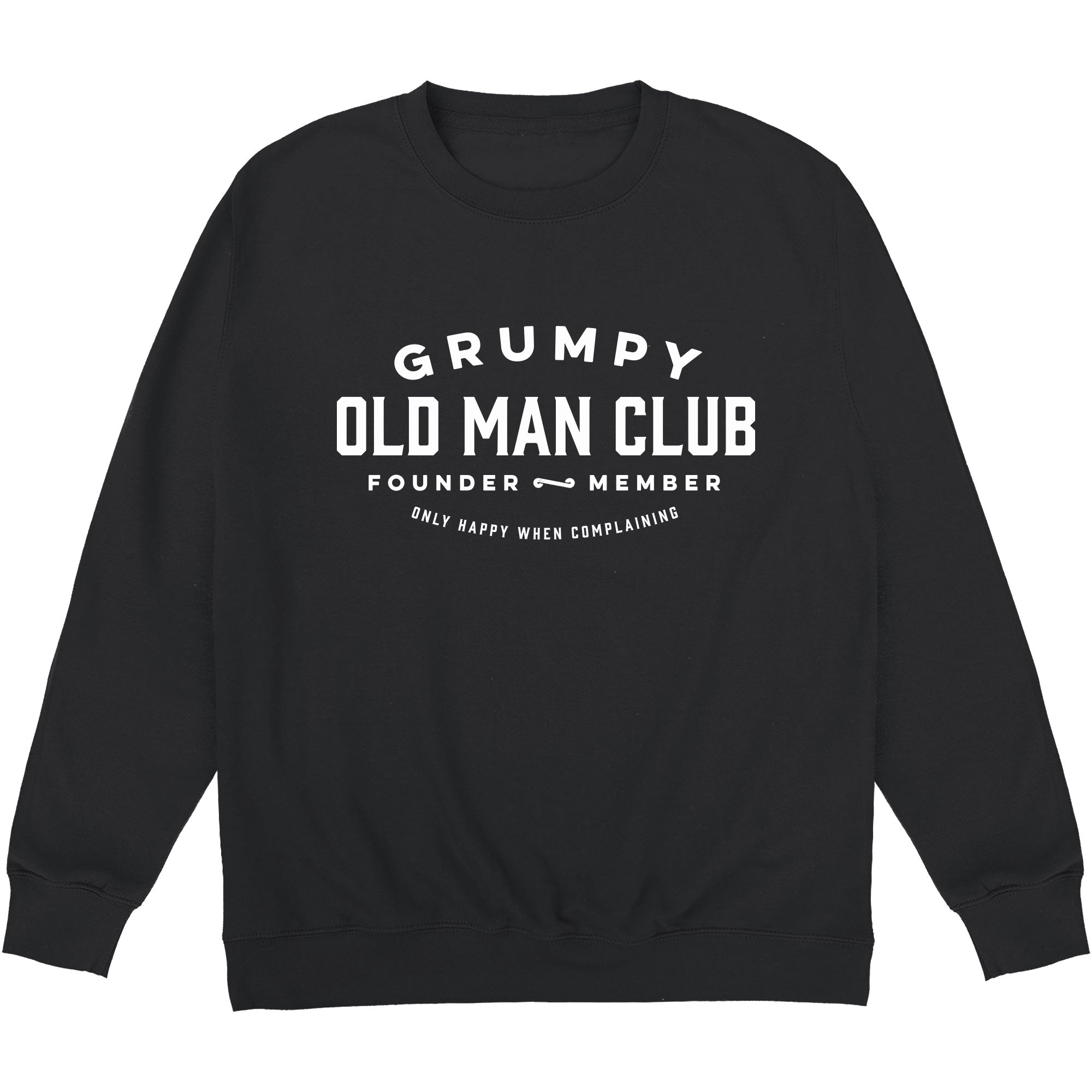 CHEAP Grumpy Old Man Club Sweatshirt 24322676407 – Clothing Accessories