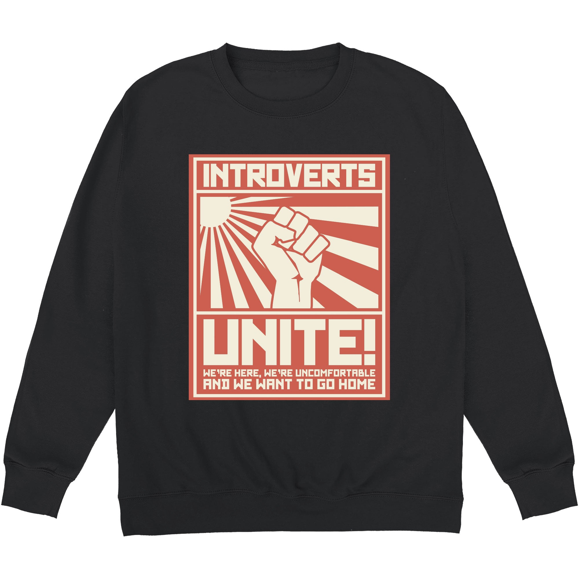 CHEAP Introverts Unite Sweatshirt 24322676891 – Clothing Accessories