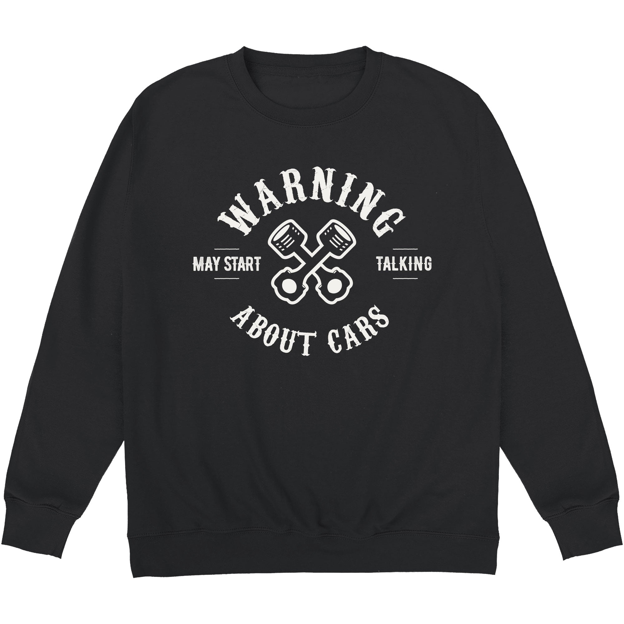 CHEAP May Start Talking About Cars Crewneck Sweatshirt 24322677099 – Clothing Accessories