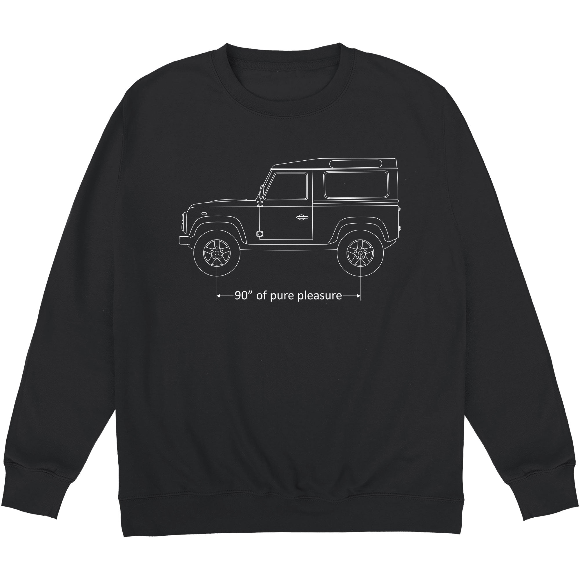 CHEAP 90 Inches of Pure Pleasure Crewneck Sweatshirt 28109022401 – Clothing Accessories