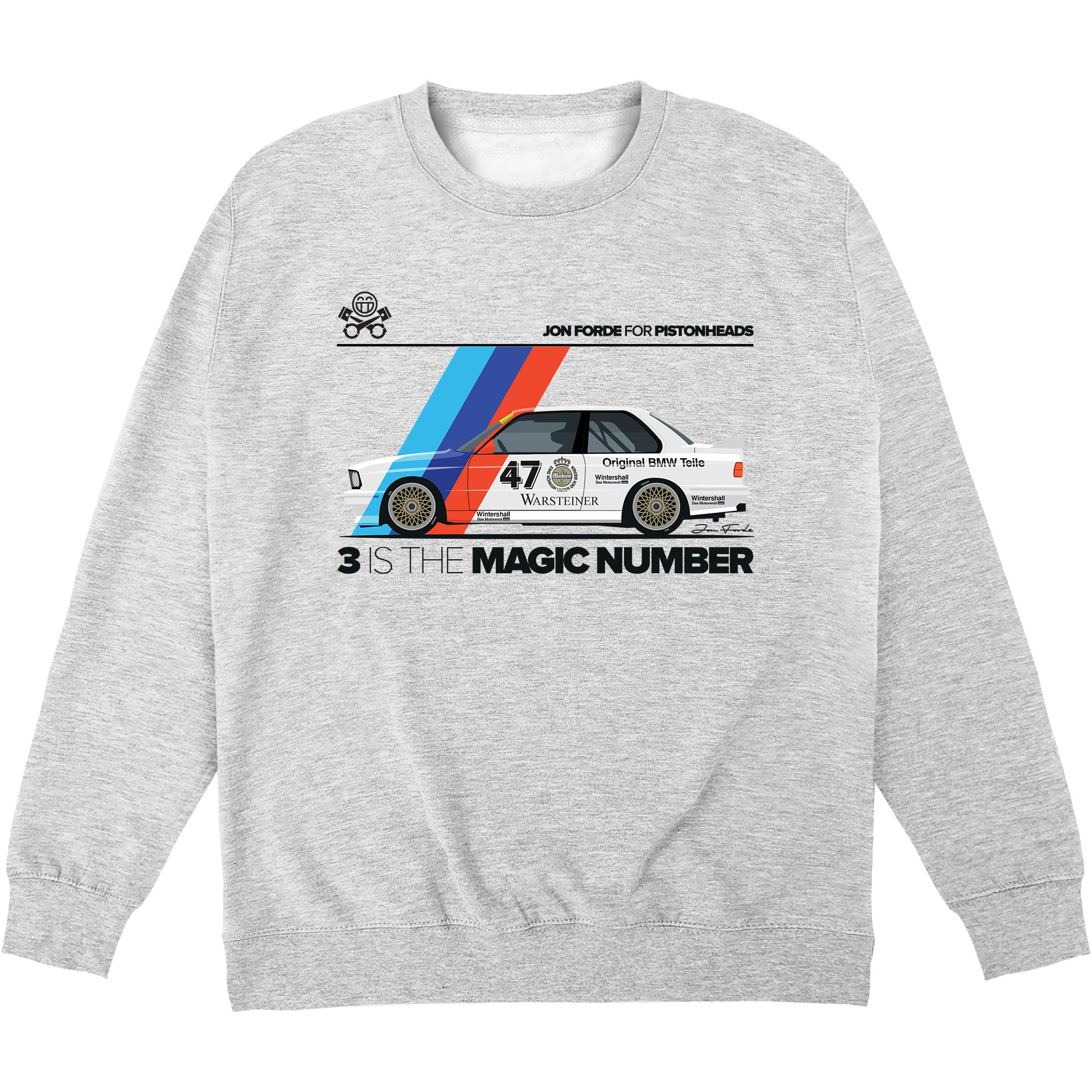 CHEAP Jon Forde 3 Is The Magic Number Sweatshirt 24322676983 – Clothing Accessories
