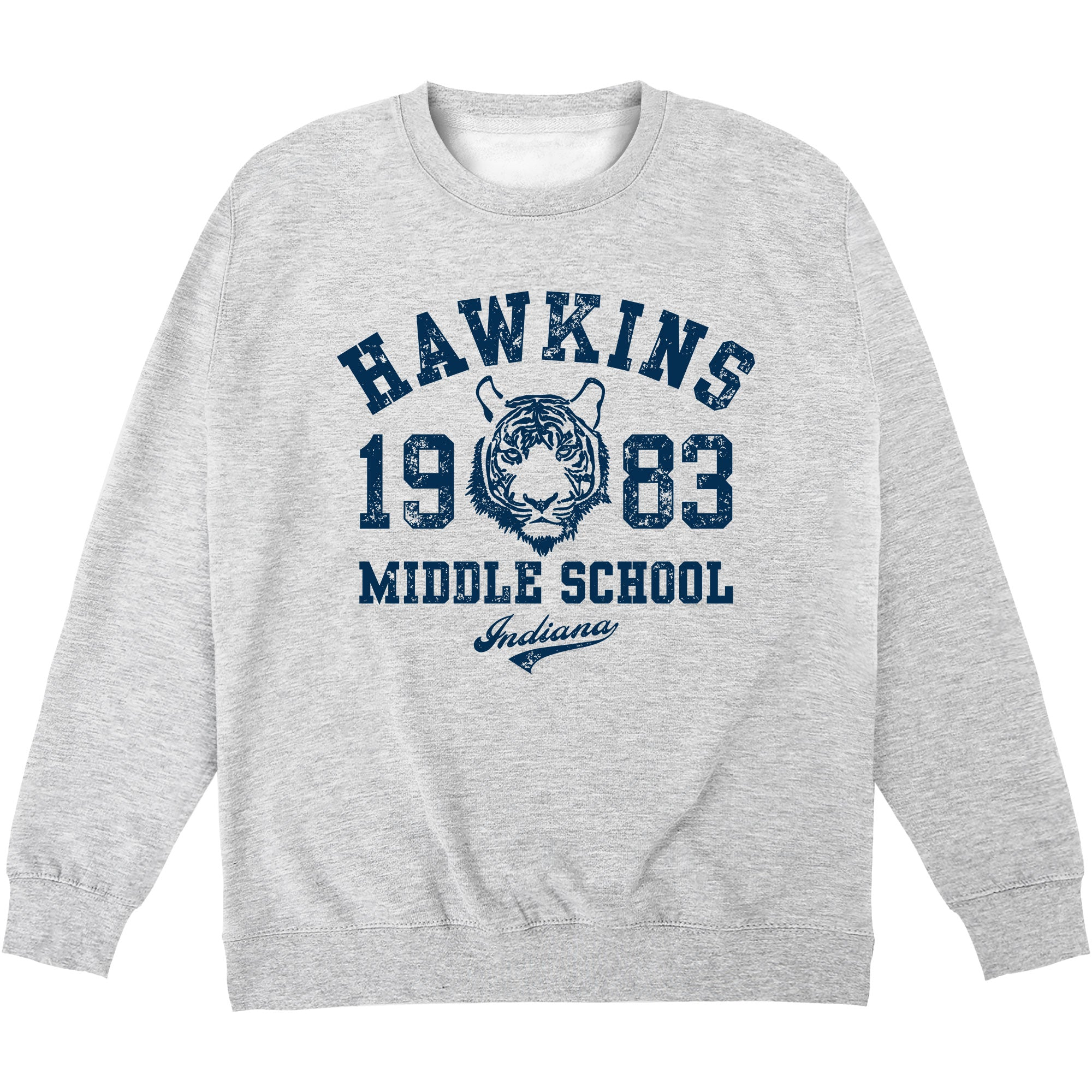 CHEAP Inspired By Stranger Things – Hawkins Middle School Sweatshirt 24322676781 – Clothing Accessories