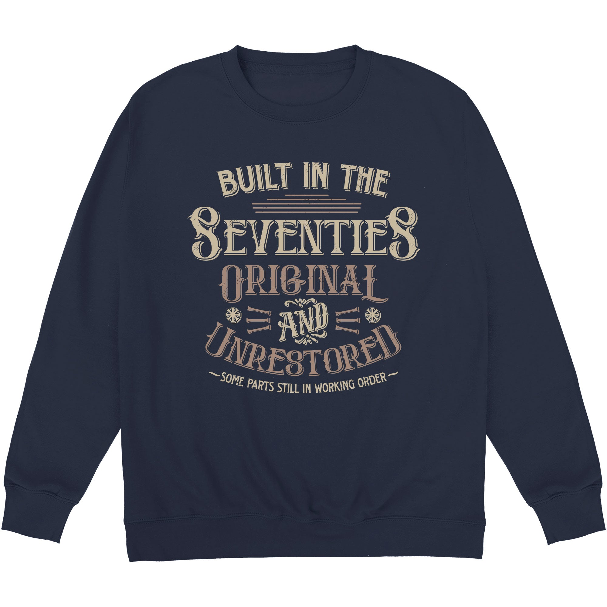 CHEAP Whiskey Built In the Seventies Sweatshirt 24322678411 – Clothing Accessories