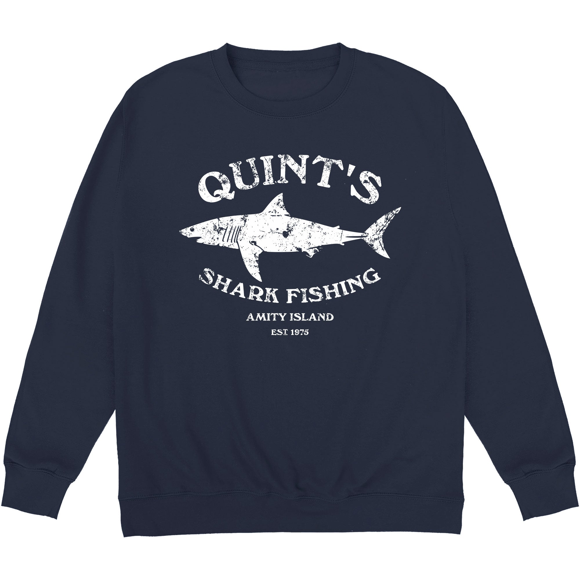 CHEAP Inspired By Jaws – Quint's Shark Fishing Sweatshirt 24322676679 – Clothing Accessories