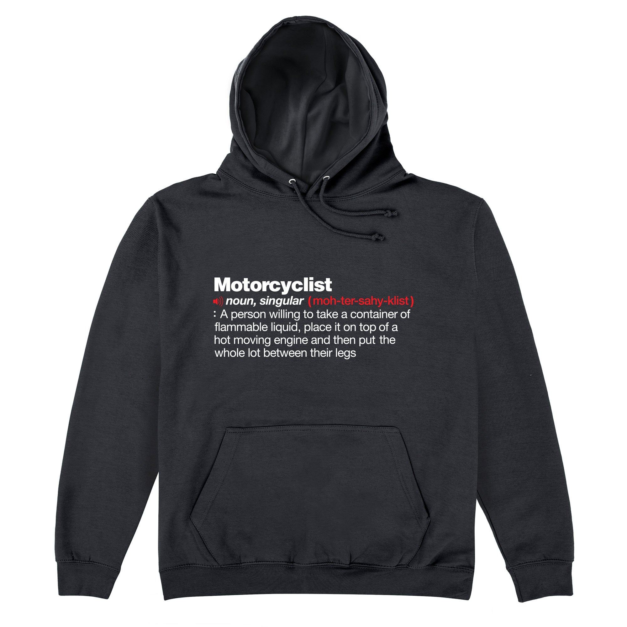 CHEAP Motorcyclist Definition Hoodie 25735409489 – Clothing Accessories