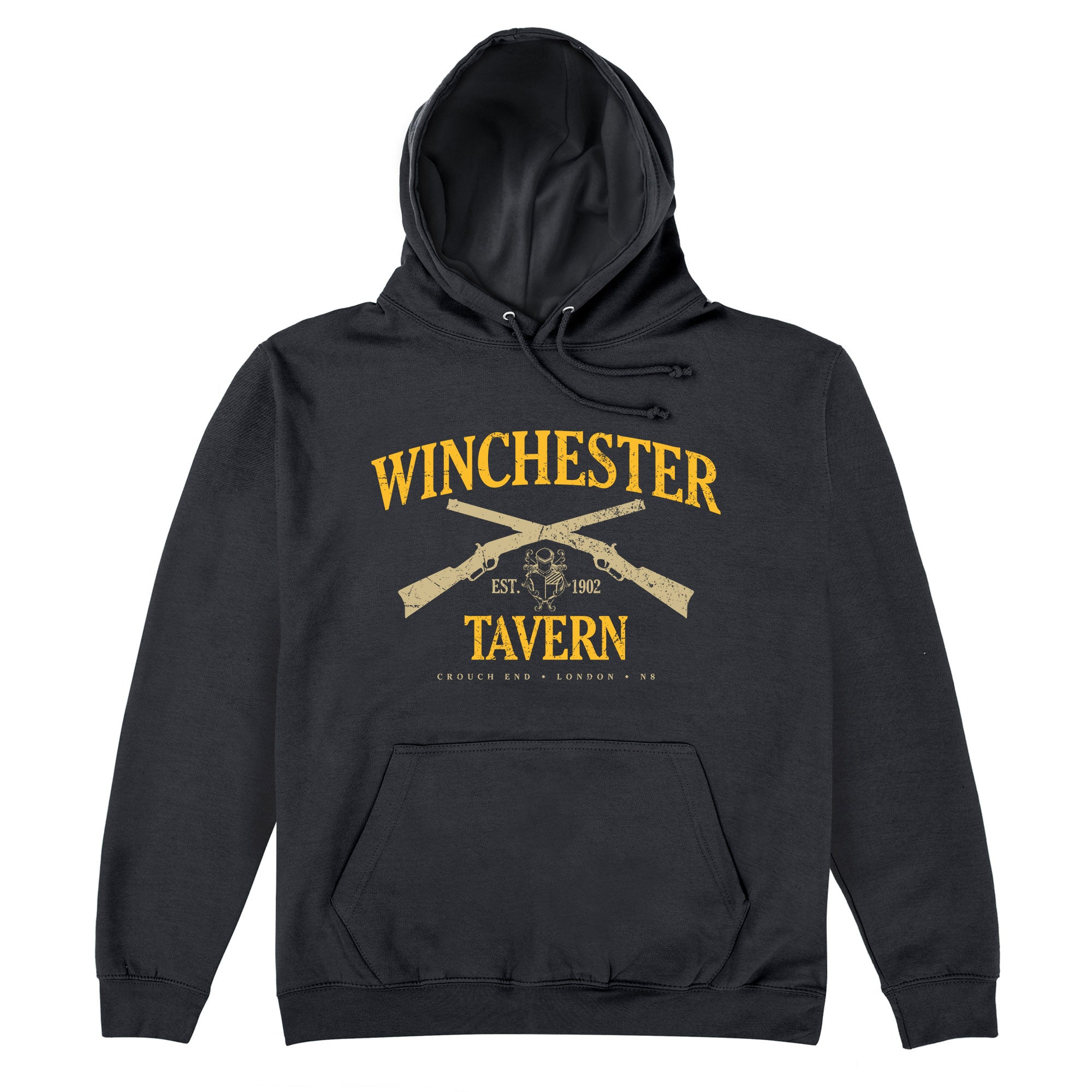 CHEAP Inspired By Shaun Of The Dead – Winchester Tavern Hoodie 25745865063 – Clothing Accessories