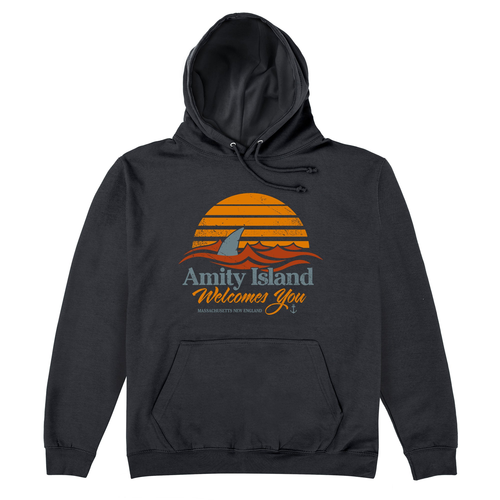 CHEAP Inspired By Jaws – Welcome to Amity Hoodie 25735409431 – Clothing Accessories