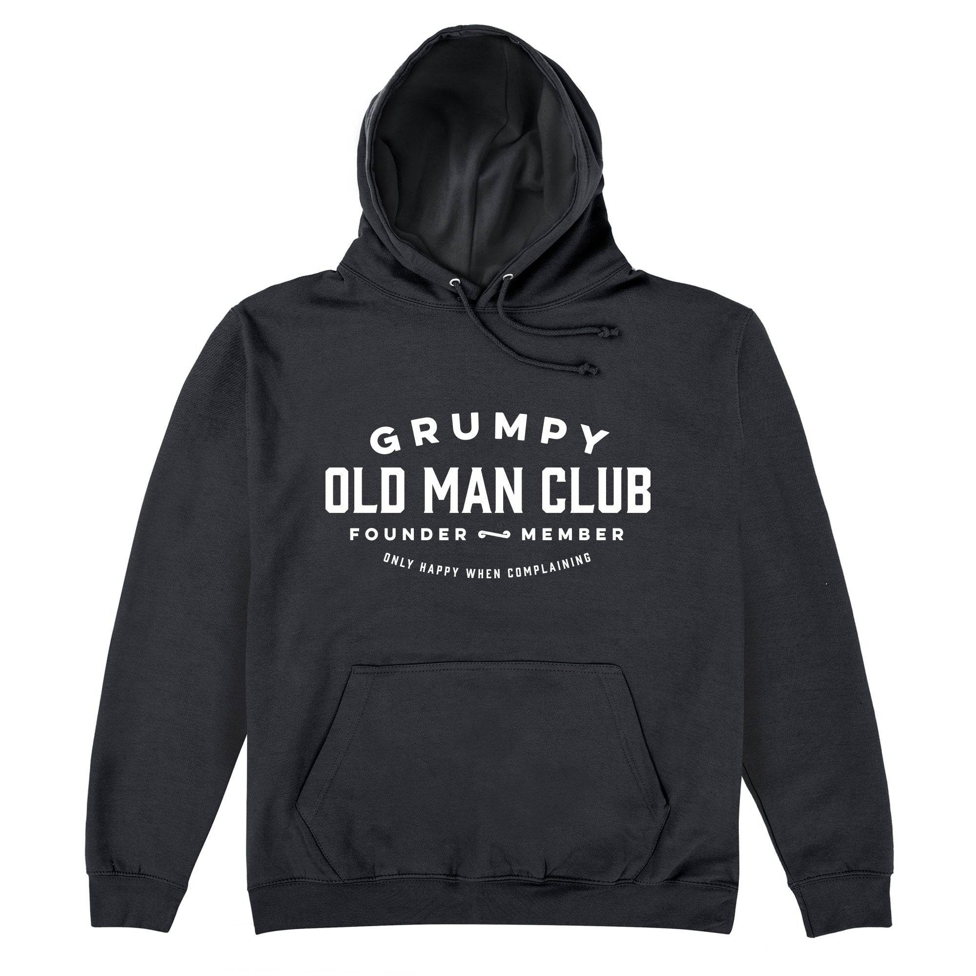 CHEAP Grumpy Old Man Club Hoodie 25722908197 – Clothing Accessories