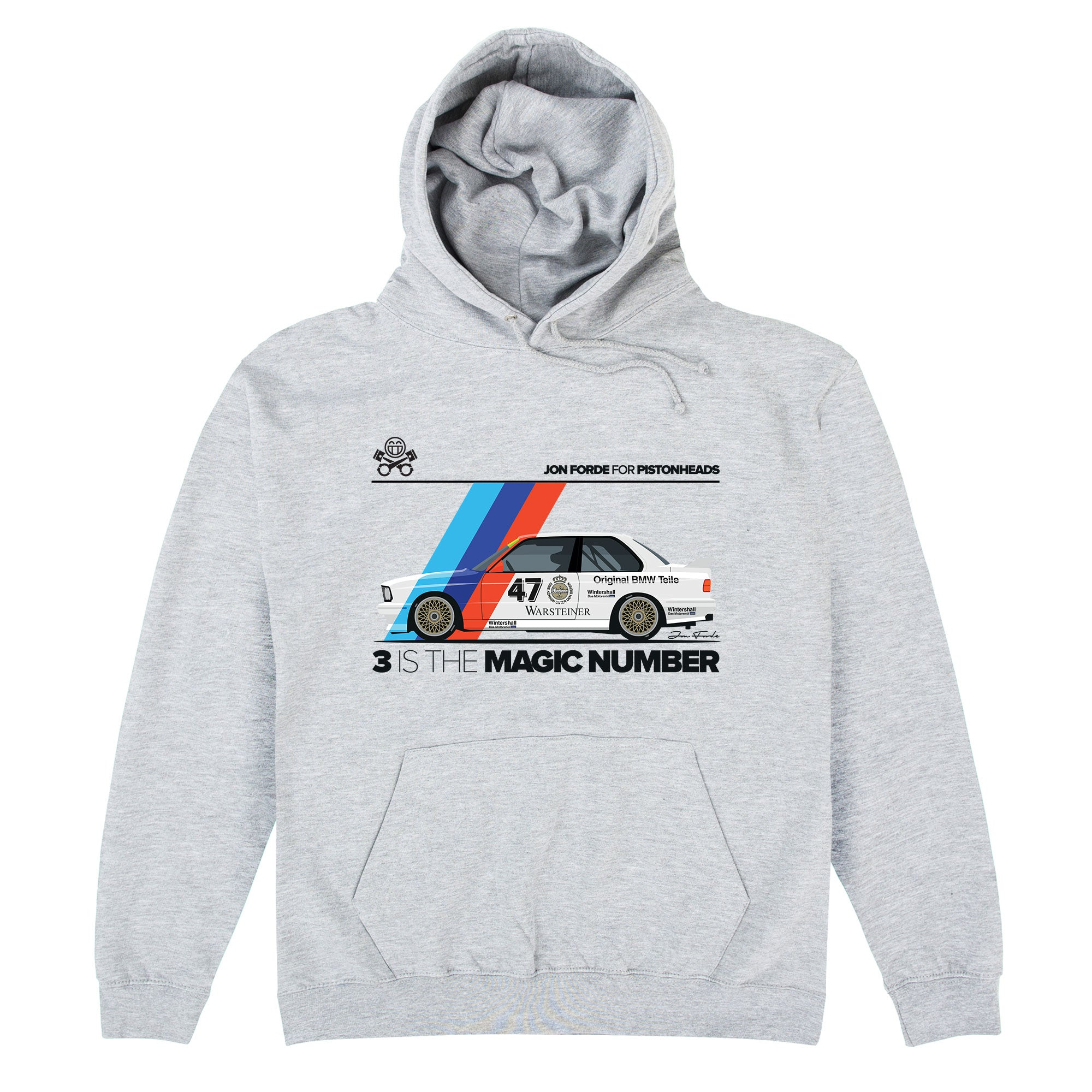 CHEAP Jon Forde 3 Is The Magic Number Hoodie 25722908239 – Clothing Accessories
